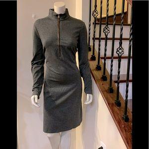 Lauren Ralph Lauren Grey ZIP Tunic Dress